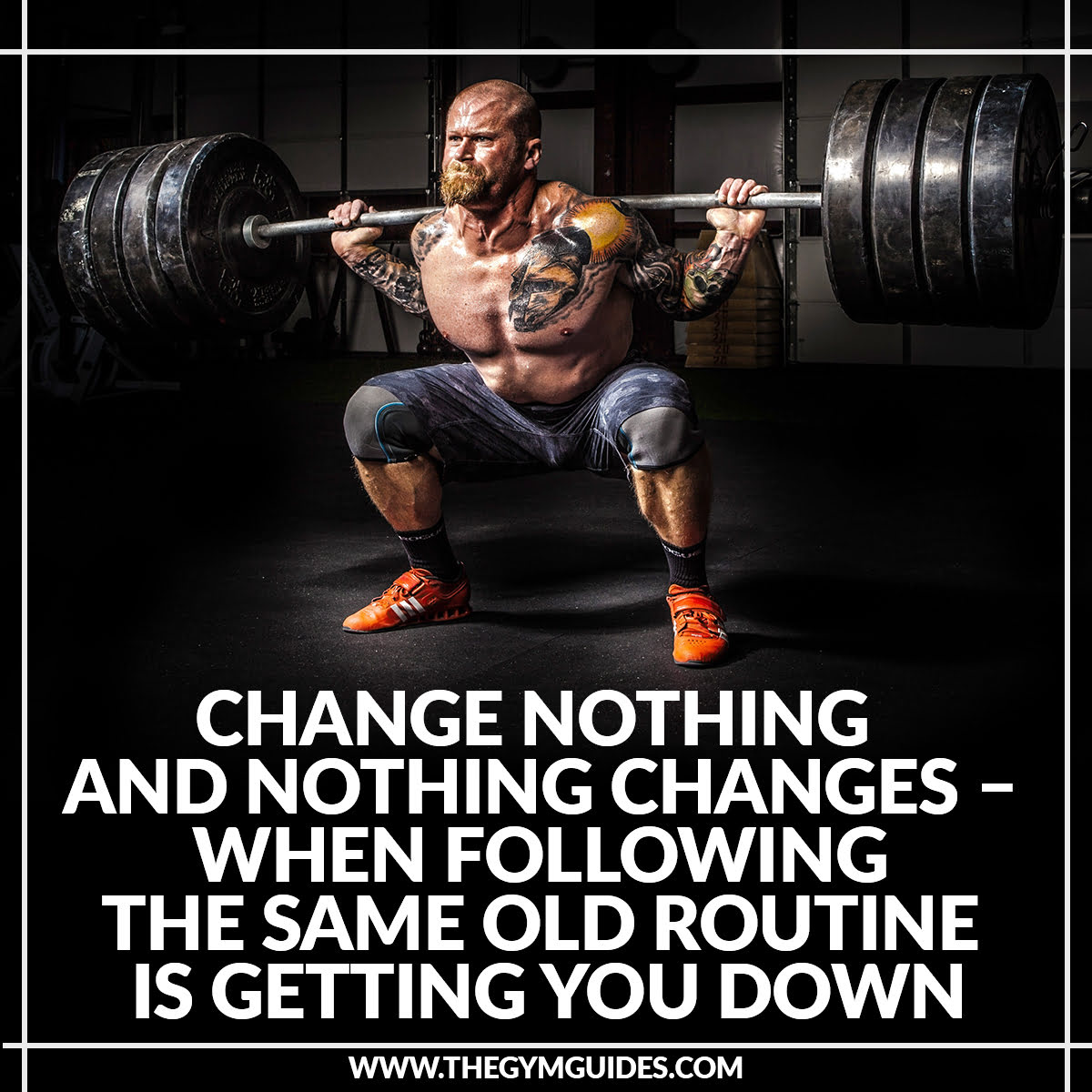 Change Nothing and Nothing Changes – when following the same old routine is getting you down