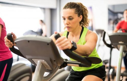 Spin Bike Muscle Tone Building