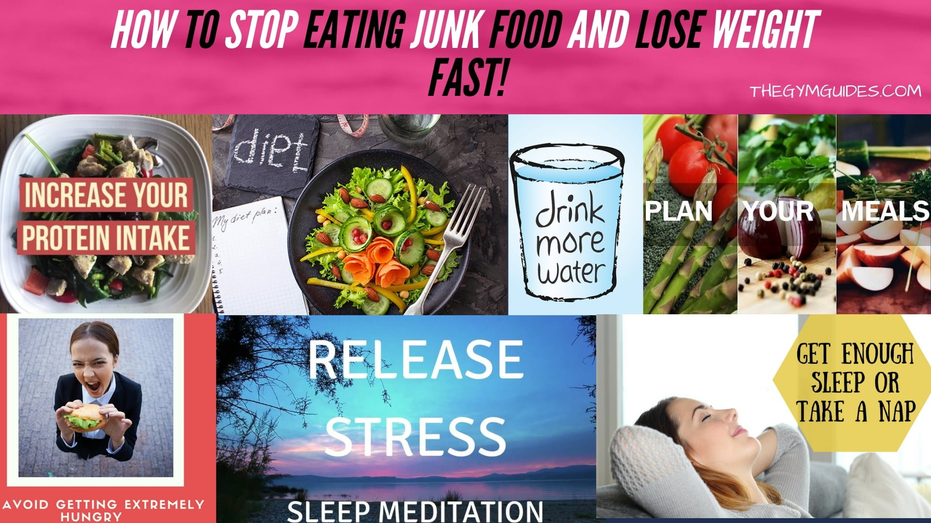 How to Stop Eating Junk Food and Lose Weight Fast