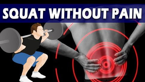 Lower Back Pain After Squats