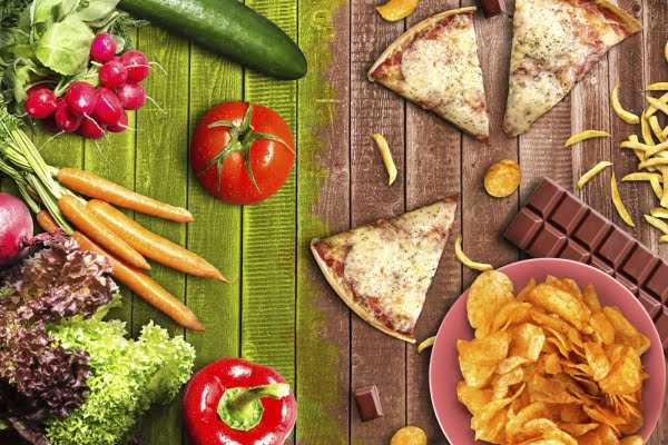 Start following a healthy and nutritious diet which is balanced